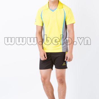 Áo bóng chuyền nam màu vàng mã PN05