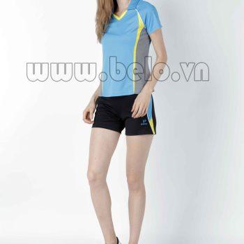 Áo bóng chuyền nữ xanh ngọc PN01