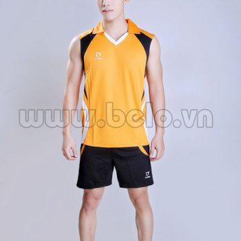 Áo bóng chuyền nam màu cam mã CSN005