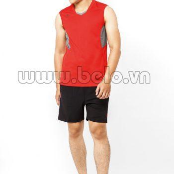Áo bóng chuyền nam sát nách màu đỏ mã CSN014 giá rẻ hấp dẫn !