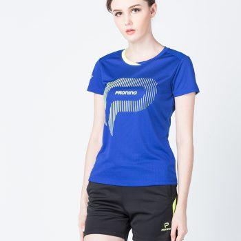 Áo bóng chuyền nữ màu xanh dương PN04