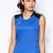 Áo bóng chuyền nữ sát nách màu xanh dương mã CSN015