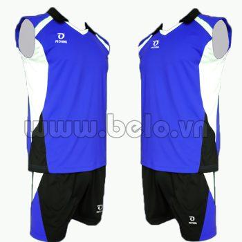 Quần áo bóng chuyền màu xanh dương mã CSN011