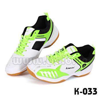 Giày giày bóng chuyền Kawasaki K-033 màu xanh chuối trắng