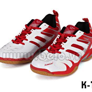 Giày bóng chuyền Kawasaki K123 đỏ trắng khuyến mại giá sốc