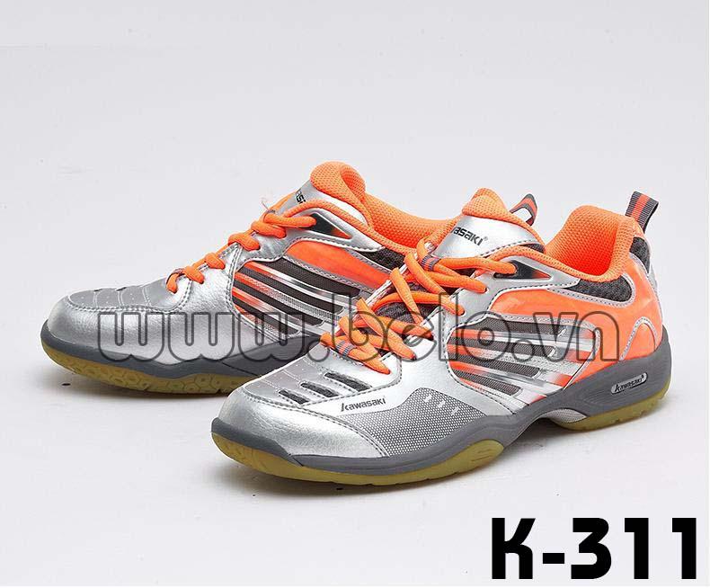 Giày bóng chuyền Kawasaki K311 màu bạc