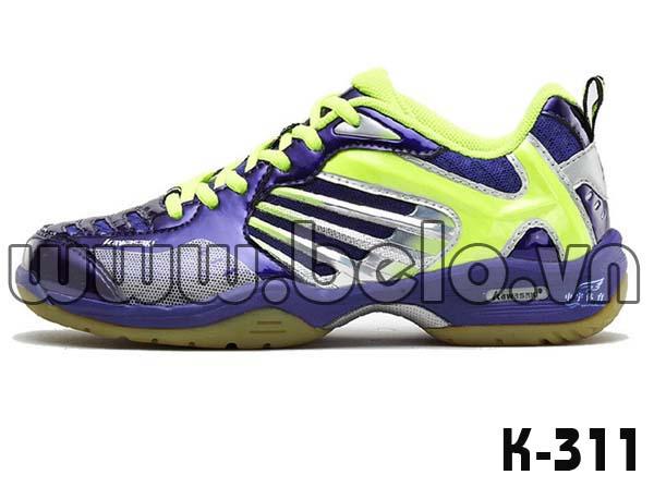 Giày bóng chuyền Kawasaki K311 màu xanh dương