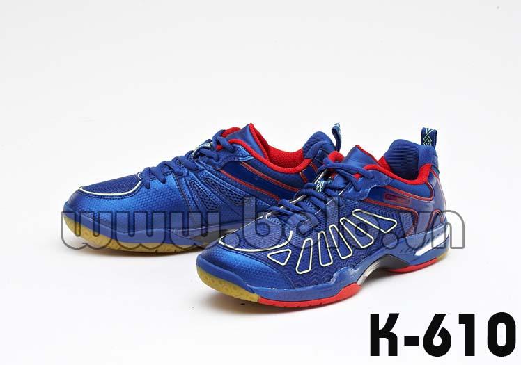 Giày bóng chuyền Kawasaki K610 xanh dương chất lượng cao.