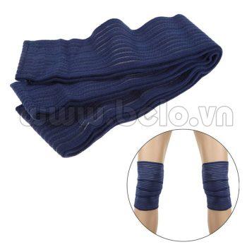 Bảo vệ đầu gối quấn màu xanh