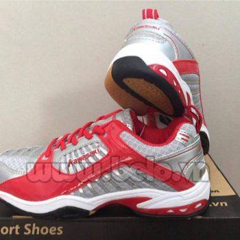 Giày bóng chuyền Kawasaki nữ K-108 bạc pha đỏ giá hấp dẫn !