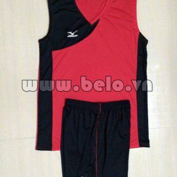 Áo bóng chuyền đen đỏ