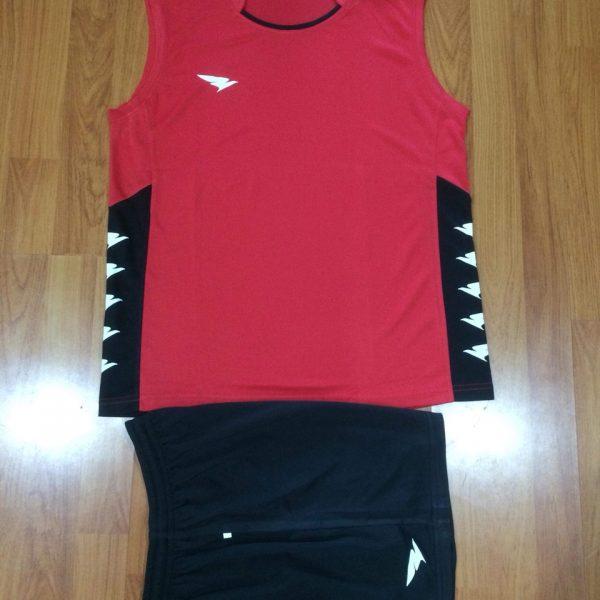 Áo bóng chuyền sát nách Hiwing H2 chính hãng màu đỏ